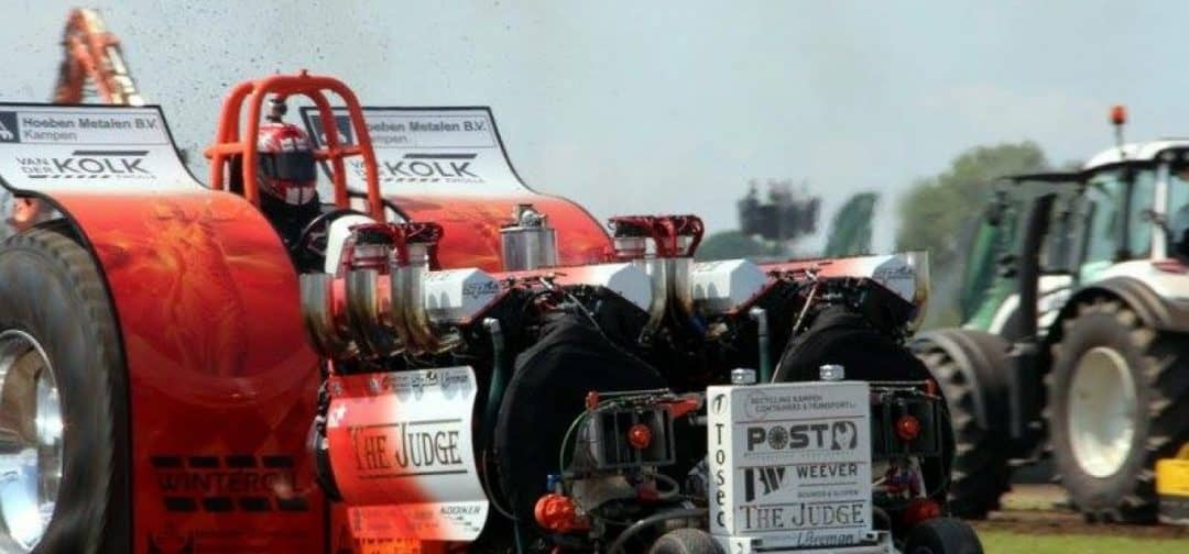 The Judge Tractor Pulling